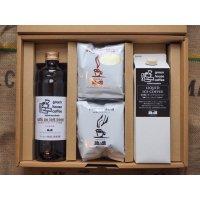 リキッドアイスコーヒー&カフェオレベース&ドリップ10杯ギフト(組み合わせ選択可能)